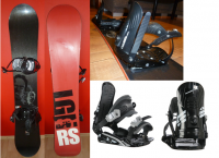 Snowboard Rossignol LGN RS s viazaním Rossignol HC500